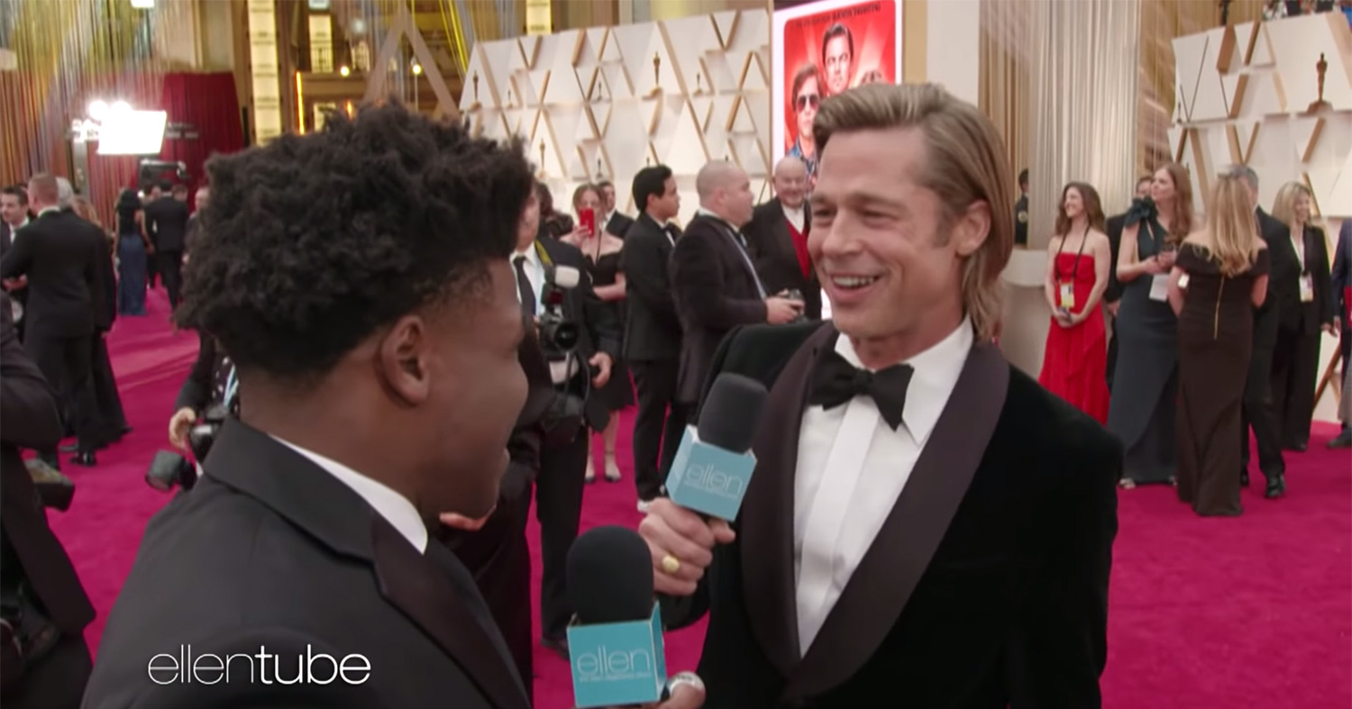 Celebrities on the Oscars Red Carpet Meet Jerry Harris from Cheer | PEOPLE.com